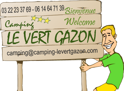 mail camping le vert gazon